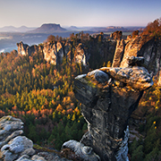 Morning on Bastei