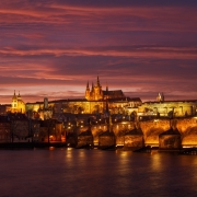 Red Skies above Prague
