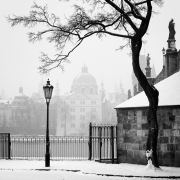 Winter by the Charles Bridge